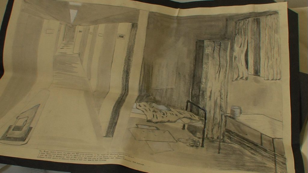 Drawings of the prison