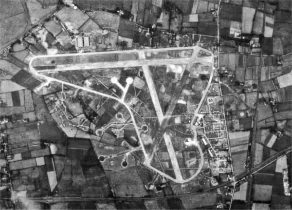 Long Kesh in 1942, an aerial view.